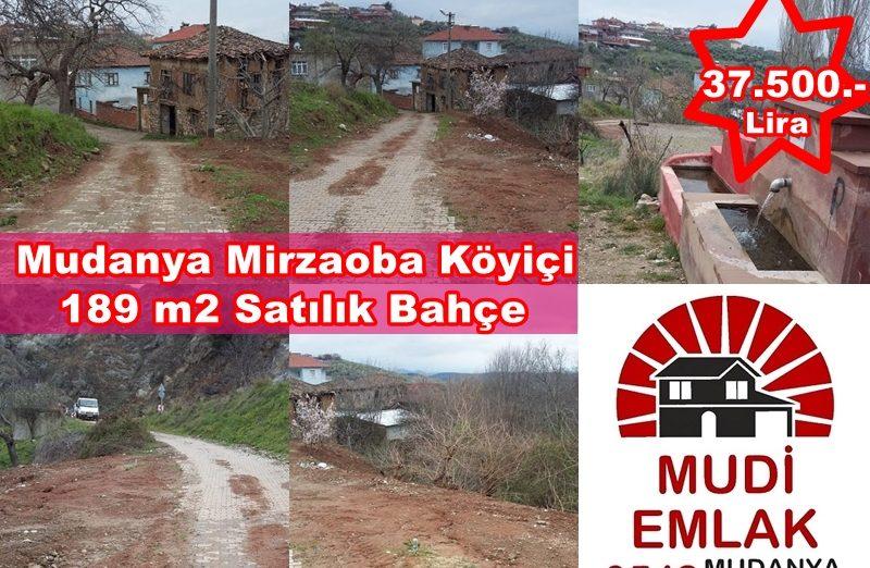 Bursa Mudanya Mirzaoba Köyiçi Satılık Arsa