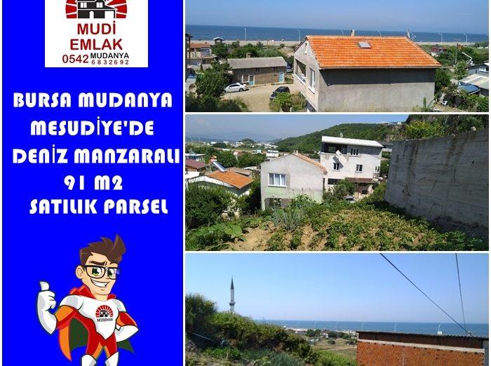 Bursa Mudanya Satılık Deniz Manzaralı Arsa